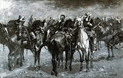 Cavalry in an Arizona Sandstorm Frederic Remington