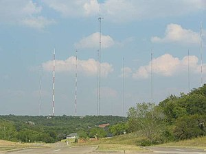 Cedar Hill, Texas - Antenna grouping in Cedar Hill