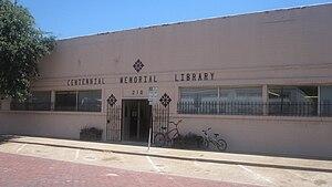 Eastland, Texas - Image: Centennial Memorial Library, Eastland, TX IMG 6424