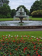 Central Park fountain, Scunthorpe (geograph 861663)