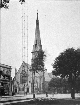 Methodist Episcopal Church - Established in 1810, Central United Methodist Church in Detroit is the oldest Protestant church in Michigan. The current building was constructed in 1866.
