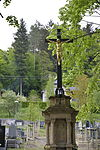 Central cross at the Cemetry in Železný Brod 01.JPG