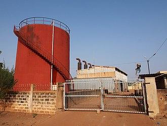 Société Nationale d'électricité du Burkina Faso - Image: Centrale Thermique SONABEL2