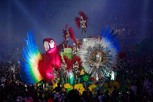 2016 Summer Olympics closing ceremony - The Carnival-inspired parade