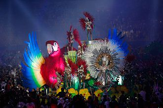 2016 Summer Olympics closing ceremony - The Carnival-inspired parade