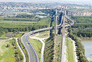 Cernavodă Bridge Bridge in Romania
