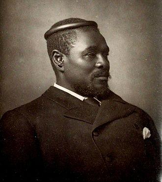 1884 in South Africa - King Cetshwayo kaMpande