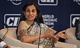 Chanda Kochhar - India Economic Summit 2011.jpg
