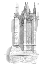 Croquis de la capilla del presbiterio