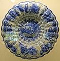 Charger, Frankfurt or Hanau, Germany, c. 1700-1730, tin-glazed earthenware - Montreal Museum of Fine Arts - Montreal, Canada - DSC09252.jpg