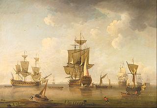 Men of War in Harbour
