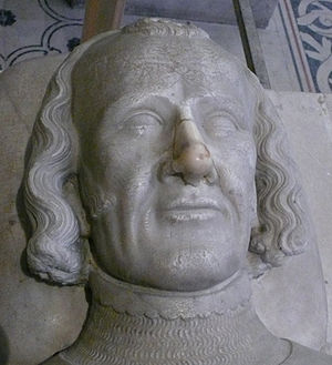 Charles II, Count of Alençon - Tomb Effigy of Charles d'Alençon