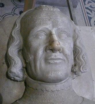 Charles II, Count of Alençon - Tomb Effigy of Charles d'Alençon