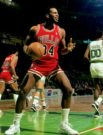 Charles Oakley - Charles Oakley during the 1986-87 season with the Chicago Bulls