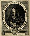 Charles Patin. Line engraving by U. Desbois after himself. Wellcome V0004549.jpg
