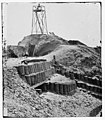 Charleston, South Carolina. Beacon on parapet of Fort Sumter LOC cwpb.02307.jpg