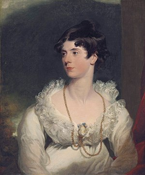 Charlotte Fitzalan-Howard, Duchess of Norfolk - Charlotte Sophia (1788-1870). (studio of  Thomas Lawrence)