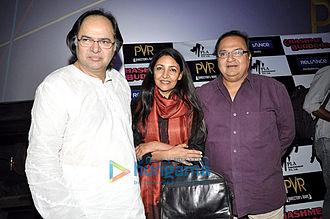 Chashme Buddoor (1981 film) - Farooq Shaikh, Deepti Naval and Rakesh Bedi at the special screening of 'Chashme Buddoor' in April 2013