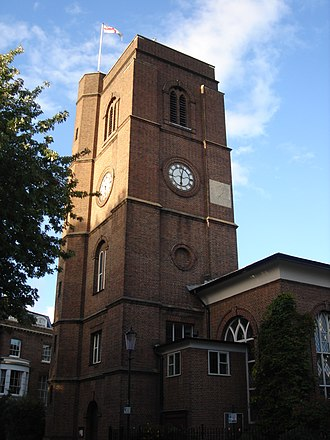 Chelsea Old Church - Image: Chelsea Old Church 09