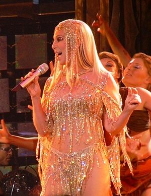 Camp (style) - Cher performing during her Living Proof: The Farewell Tour