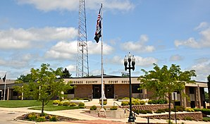 Das Cherokee County Courthouse in Cherokee