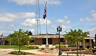 Cherokee County, Iowa - Image: Cherokee County Courthouse (Iowa)
