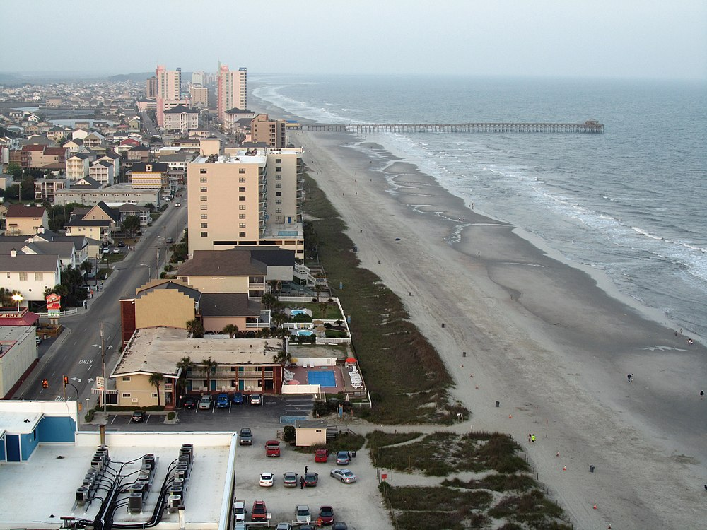 The population density of North Myrtle Beach in South Carolina is 250.86 people per square kilometer (649.6 / sq mi)