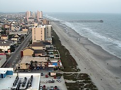 Cherry Grove Beach in North Myrtle Beach