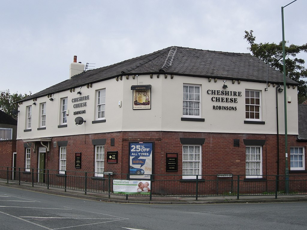 Creative Commons image of The Cheshire Cheese  in Hyde