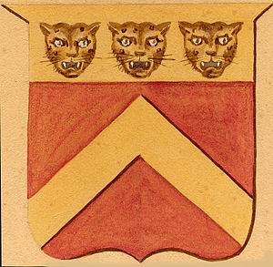 Benjamin Chew - Chew coat of arms