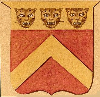 Benjamin Chew - Chew coat of arms