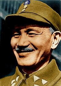 Chiang Kai-shek Colour