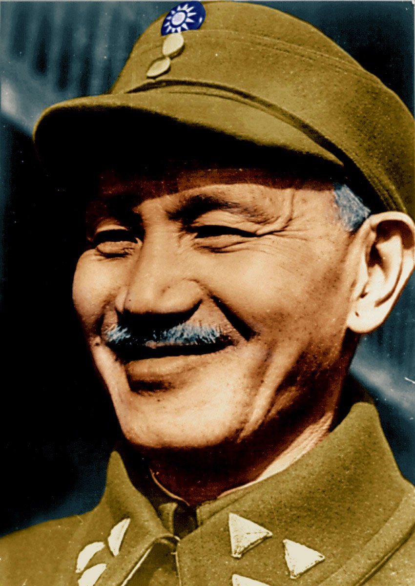 Chiang Kai-shek Colour