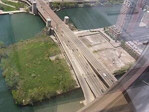 DuSable Park (Chicago) - An aerial view of DuSable Park.