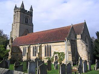 Chiddingstone - Church of St. Mary.
