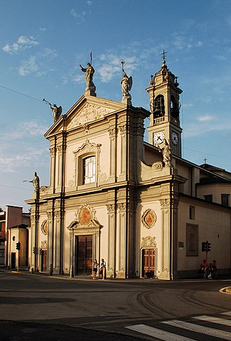 Lurago Marinone - Church of St.George in Lurago Marinone