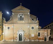 Chiesa di San Martino Vescovo Venezia notte.jpg