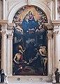 Chiessa di san Zaccaria Madonna col bambino, san Benedetto e altri santi (1605).jpg