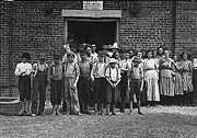 Child workers in Tupelo, Mississippi