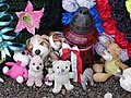 Children's Toys by Monument to Burned Barn - Khatyn National Memorial Complex - Near Minsk - Belarus - 01 (26971892614).jpg
