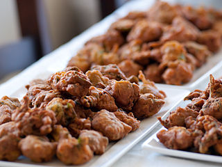 Pakora Fritter from the Indian subcontinent
