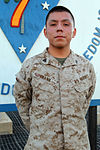 Chinle, Ariz., Marine volunteers, enjoys accountability 130527-M-IV927-006.jpg