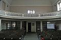 Christuskirche Frankfurt-Nied Empore.JPG