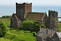 Church and lighthouse in Dover Castle 2.jpg