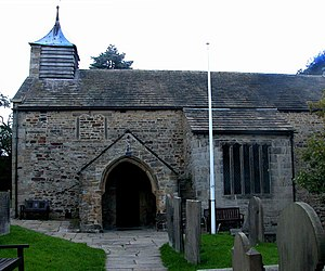 Barlow, Derbyshire - Church of St Lawrence