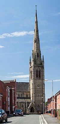 Church Of St Mary Hulme Wikipedia