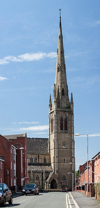 Church of St Mary, Upper Moss Lane, Hulme, Manchester Church of St Mary, Hulme.jpg