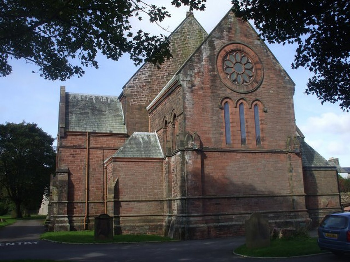 Church of St Mary and St Michael, Egremont - geograph.org.uk - 1496995.jpg