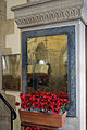 Church of the Holy Cross Felsted Essex England - south arcade WWI & WWII wall memorials.jpg