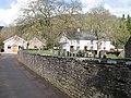 Churchyard wall, Skenfrith - geograph.org.uk - 1190055.jpg